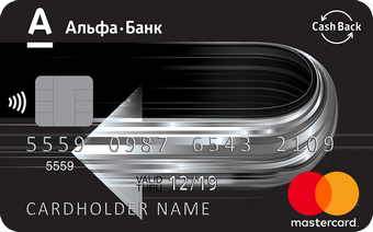 Альфа Банк — CashBack