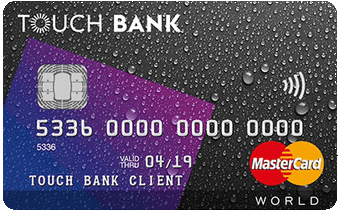 Touch Bank — кредитная карта