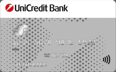ЮниКредит Банк дебетовая карта четверка